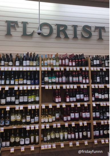 Just off to the Florist! 🍷